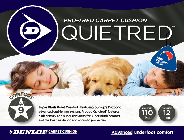 Pro-Tred Carpet Cushion Quietstep